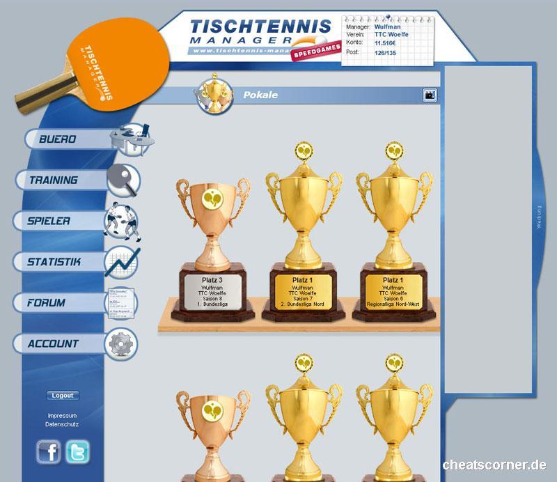 Tischtennis Manager Screenshot #5
