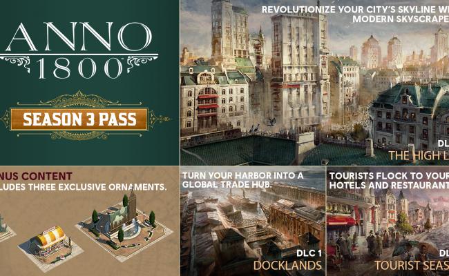 Anno 1800: Informationen zum  Season 3 Pass