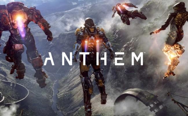 Anthem: Roadmap veröffentlicht