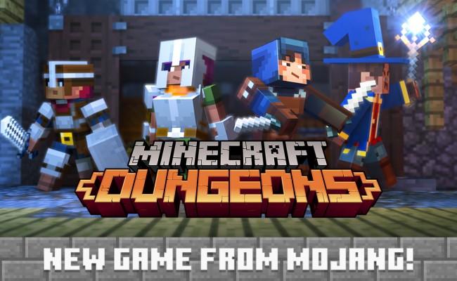 Minecraft Dungeons: Dungeon-Crawler angekündigt