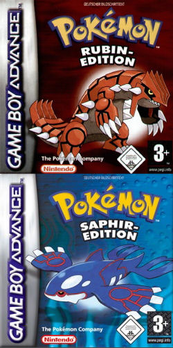 Cover :: Pokemon Rubin / Saphir